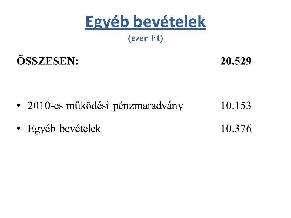 Kispatak Óvoda kiadásai és bevételei (ezer Ft) KIADÁSOK ÖSSZESEN: 570.320 – Működési kiadások: 189.712 – Felhalmozási kiadások: 380.608