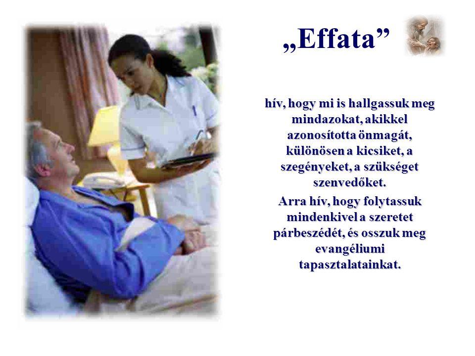 """""""Effata"""" ezzel a szóval nyitja meg fülünket Isten igéjére, amíg belénk nem hatol."""