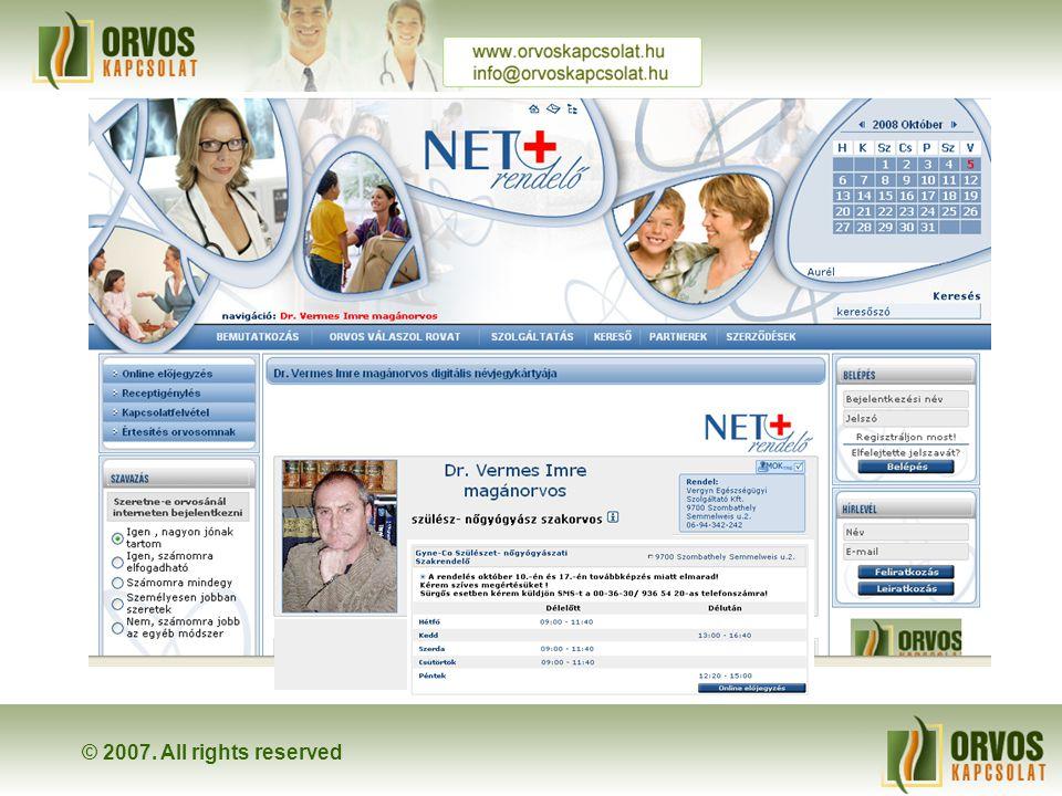 ← ← Megjeleníthetjük digitális névjegykártyánkat és a beállított rendelési időnket