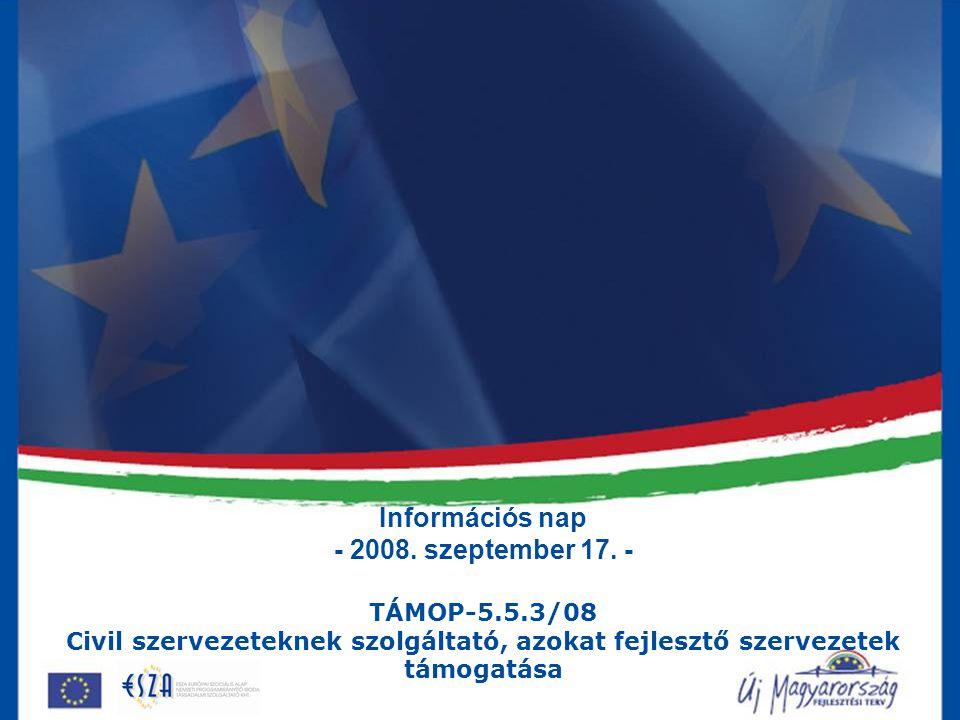Információs nap - 2008. szeptember 17.