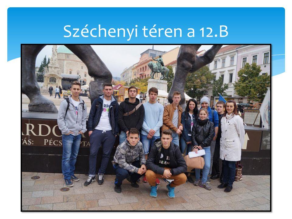 Széchenyi téren a 12.B