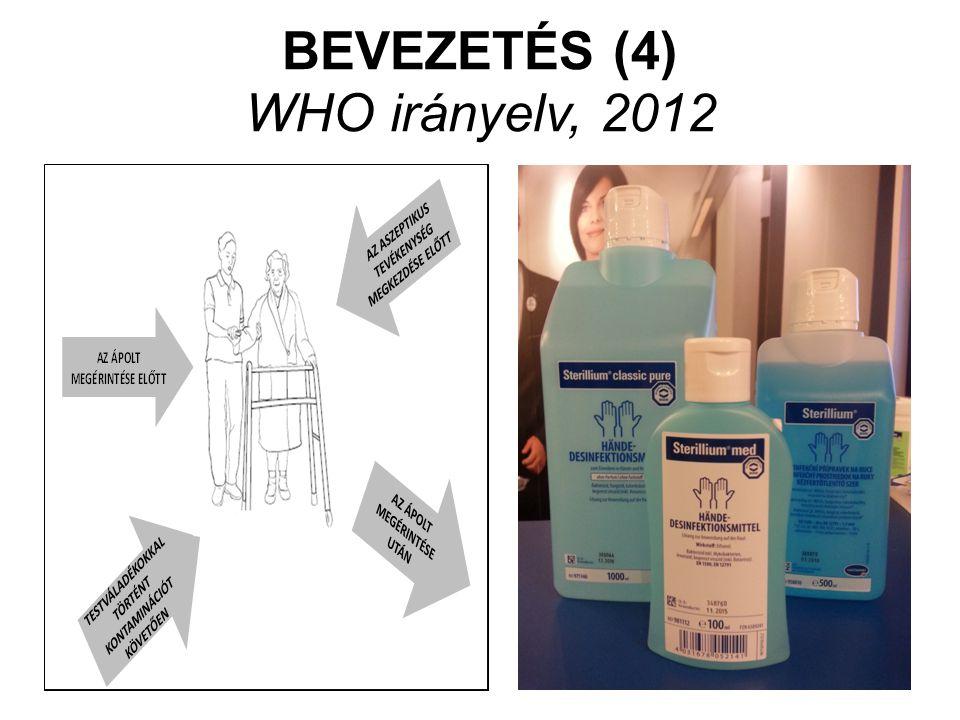 BEVEZETÉS (4) WHO irányelv, 2012