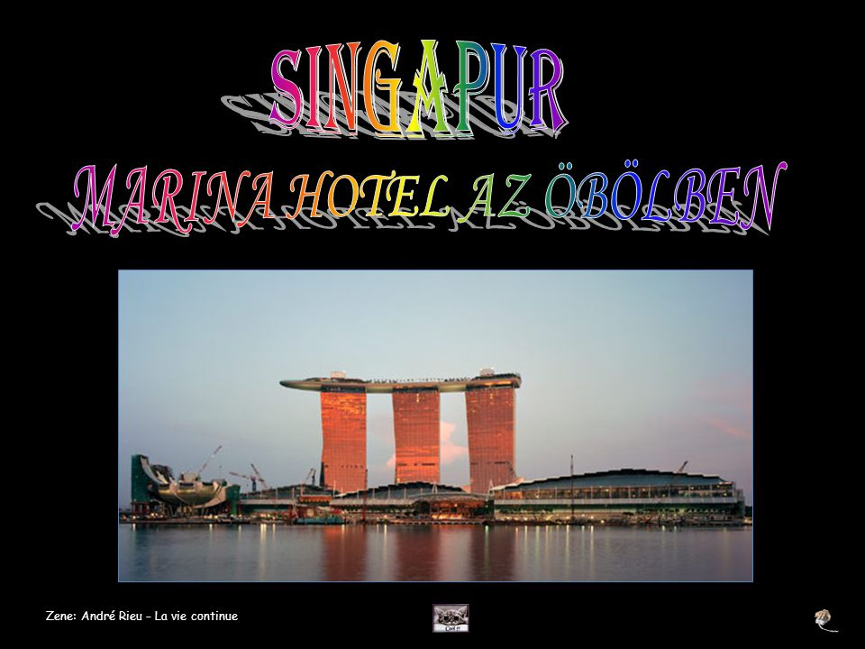 A SkyPark is tartalmazni fog számos éttermet és társalgót, mint a Marina Bay Club.