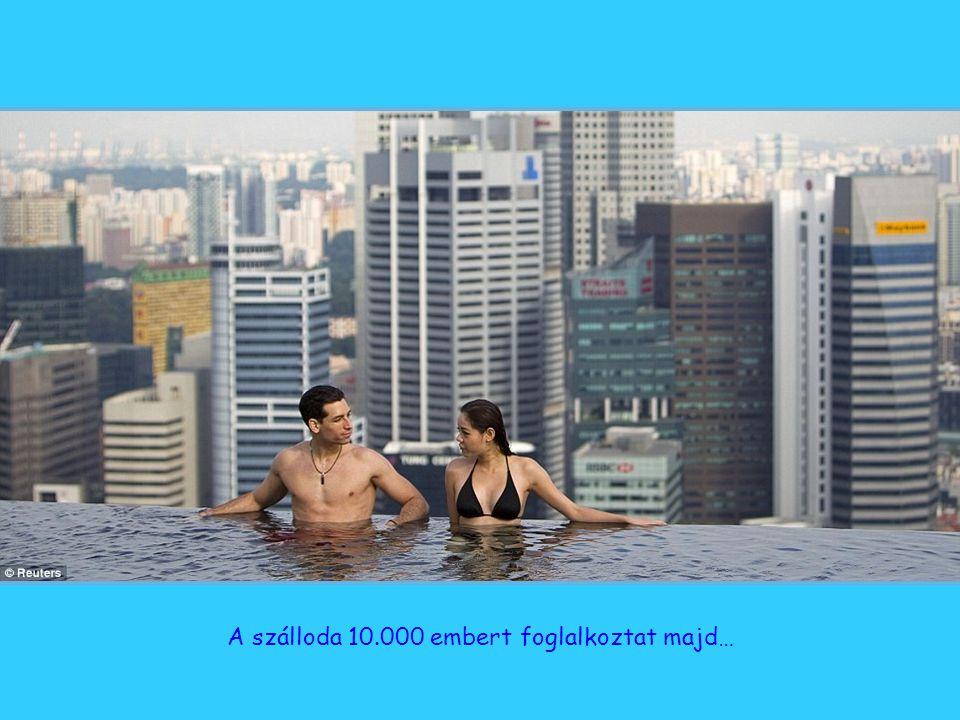 A végtelen... és azon túl! A medence hossza 150 méter, háromszor akkora, mint az olimpiai úszómedence. Ez a világ legnagyobb szabadtéri uszodája ilyen