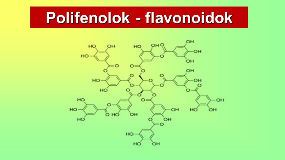 Polifenolok - flavonoidok