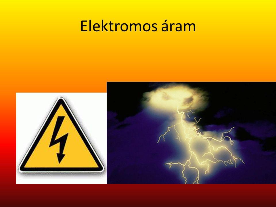a töltéssel rendelkező részecskék rendezett áramlása Lényegében minden rendezett töltésmozgást elektromos áramnak nevezünk, de mégis különbséget teszünk a fémekben az elektronok által létrehozott konduktív áram és a folyadékokban, gázokban szabad töltéshordozók (ionok) mozgása során létrejövő konvektív áram között.