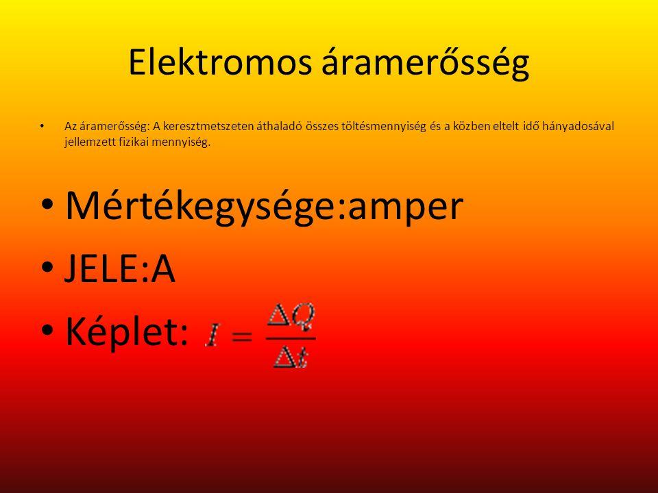 Hőelektromosság Hőelektromosság alatt hőmérséklet-különbség vagy -változás hatására létrejövő elektromos feszültséget értünk Seebeck-hatás Peltier-hatás Thomson-hatás Benedicks-hatás