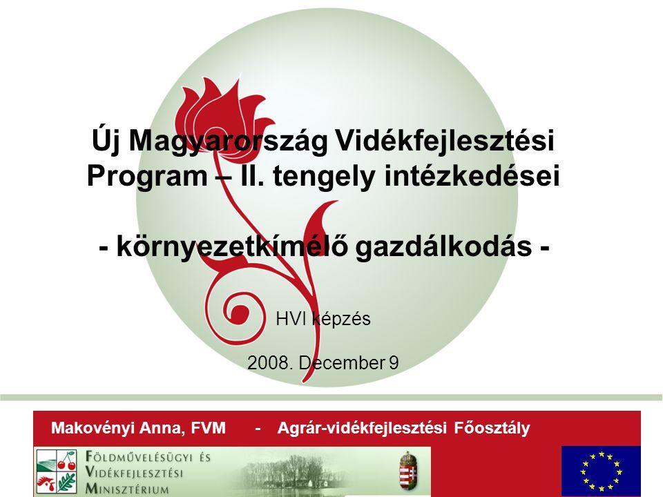 """""""New Hungary Rural Development Programme 2007-2013 Új Magyarország Vidékfejlesztési Program – II."""