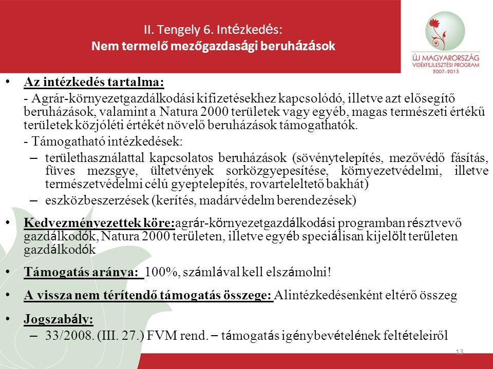 13 II. Tengely 6.