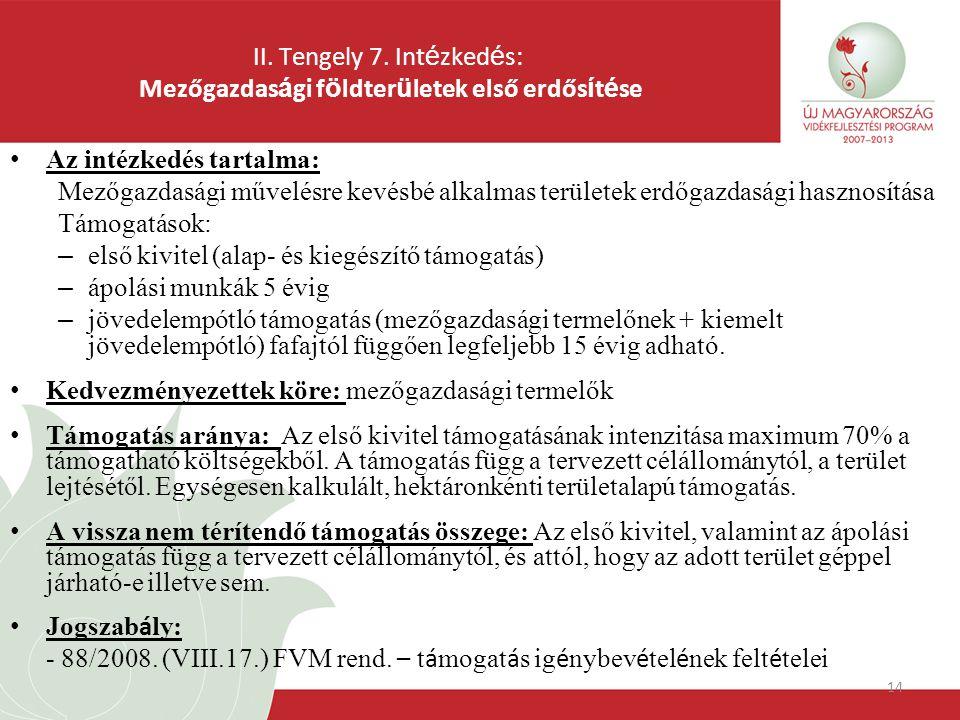 14 II. Tengely 7.