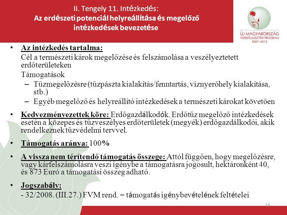 18 II. Tengely 11.