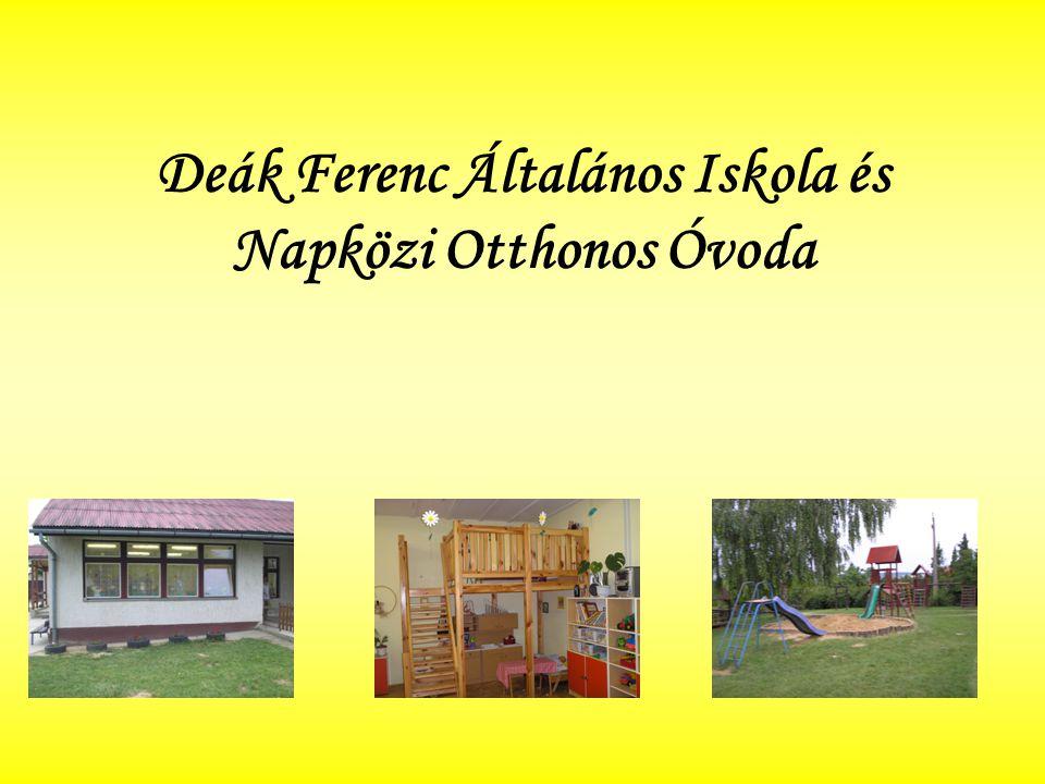 Magunkról Óvodánk a helyi Deák Ferenc Általános Iskola tagintézményeként működik.
