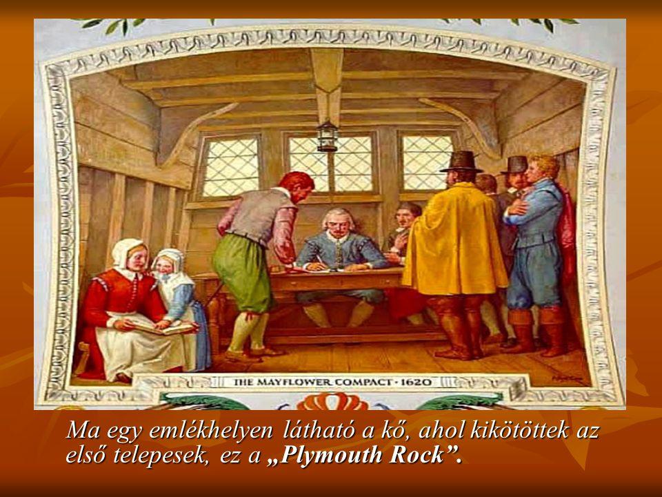 A Zarándok Atyák írták meg a független amerikai államiság első dokumentumát, melyet a világ első írott alkotmányának is tekintenek. A Zarándok Atyák í