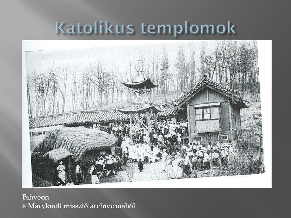 Bihyeon a Maryknoll misszió archívumából