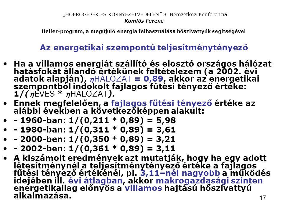 """17 """"HŐERŐGÉPEK ÉS KÖRNYEZETVÉDELEM 8."""