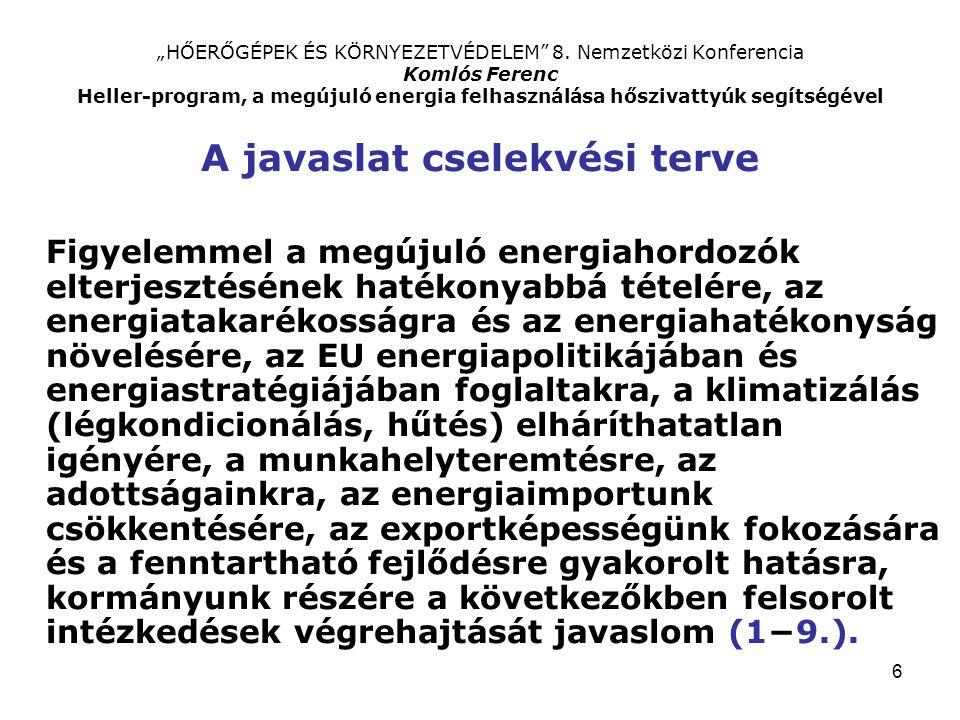"""6 """"HŐERŐGÉPEK ÉS KÖRNYEZETVÉDELEM 8."""