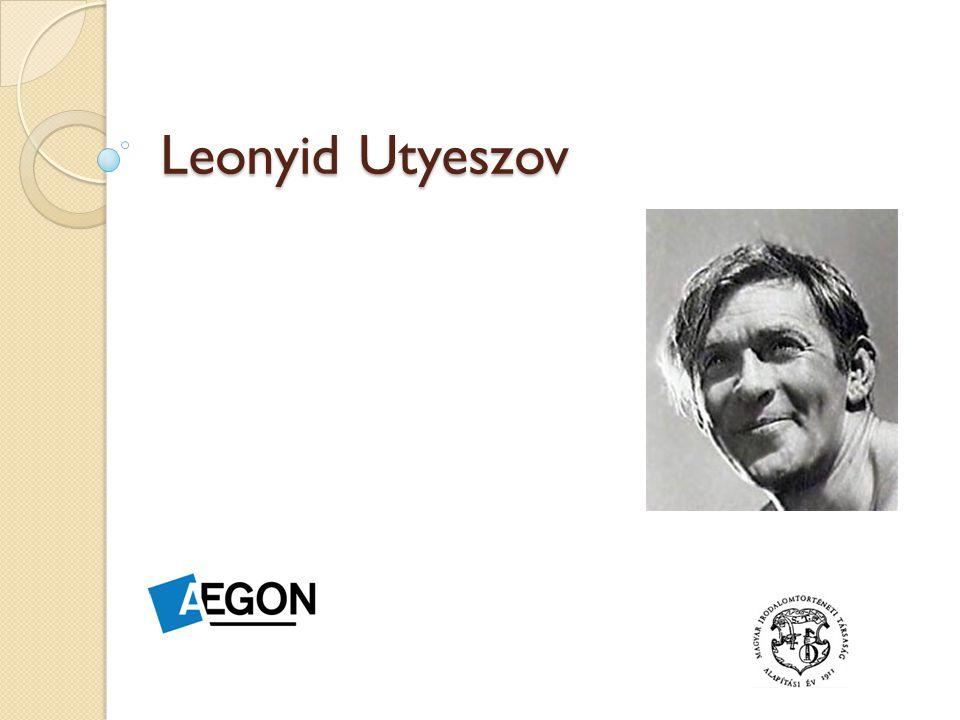 Leonyid Utyeszov