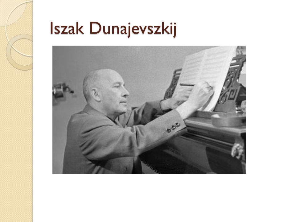 """1928-ban beutazta Európát, és sok amerikai dzsessz együttes műsorát nézte meg A 30-as években a """"Thea-Jazz elnevezésű együttesével rendszeresen lépett fel a Kirov Színházban, a Kis Színházban és a leningrádi hangversenytermekben"""