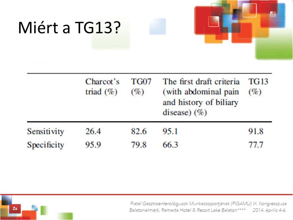 Miért a TG13? Zs