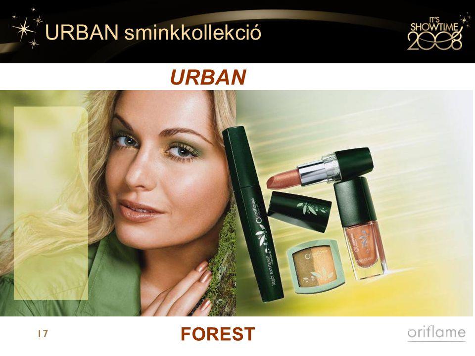 17 URBAN sminkkollekció URBAN FOREST