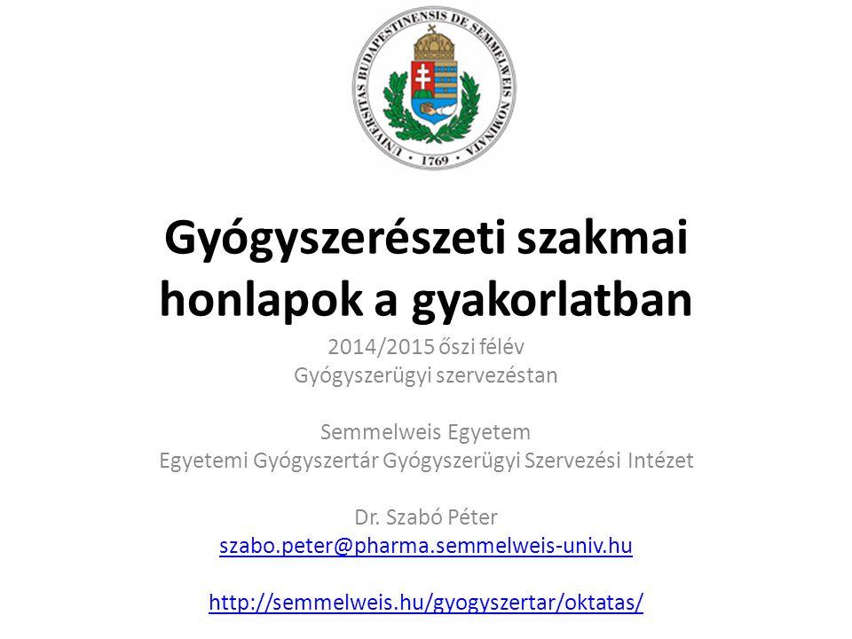 Tartalom Országos Gyógyszerészeti Intézet (GYEMSZI-OGYI) Európai Gyógyszerügynökség (EMA) Országos Egészségbiztosítási Pénztár (OEP) Állami Népegészségügyi és Tisztiorvosi Szolgálat (ÁNTSZ) Országos Élelmezés- és Táplálkozástudományi Intézet (OÉTI) Jogtár Egyéb honlapok = VPN kapcsolat / regisztráció köteles