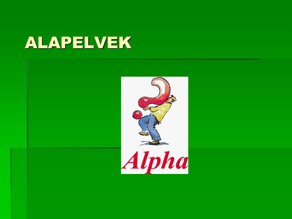 ALAPELVEK