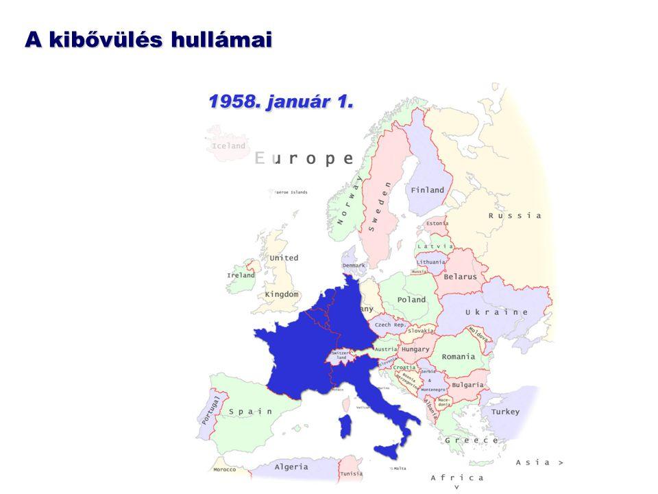 """Bővülő Európa - bővülő intézmények """"Az emberek nélkülözhetetlenek a változáshoz, az intézmények pedig a változások véghezviteléhez. Jean Monnet (1888-1979), az Európai Szén- és Acélközösség első elnöke"""