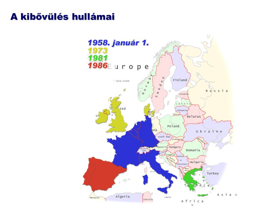 """Csatlakozás előtti helyzetünk Kapcsolatfelvételtől """"majdnem tagságig : –1991: EU-magyar társulási szerződés aláírása + kereskedelmi fejezet életbe lép –1994: életbe lép a teljes társulási szerződés + formális tagfelvételi kérelem az EU-ba –1998: a tagfelvételi tárgyalások kezdete –2000: az EU-magyar kereskedelem mintegy 90 százaléka (az iparcikkek 100 %-a, az agrárforgalom több mint 80 %-a) vám- és korlátozásmentes –2002: lezárják az EU-magyar csatlakozási tárgyalásokat –2003: a magyar export 75%-a az EU-ba megy, importunk 56%-a az EU-ból érkezik."""