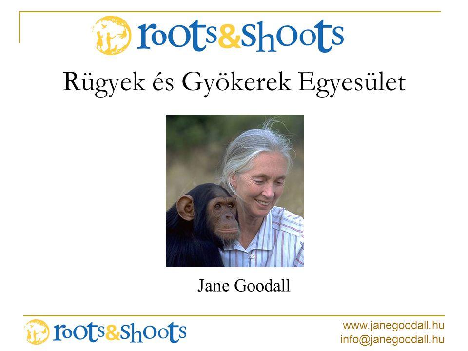 www.janegoodall.hu info@janegoodall.hu Újrafelhasználható táskák