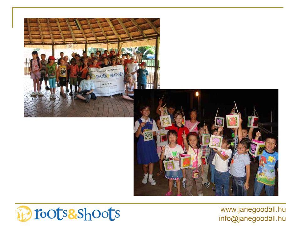 www.janegoodall.hu info@janegoodall.hu