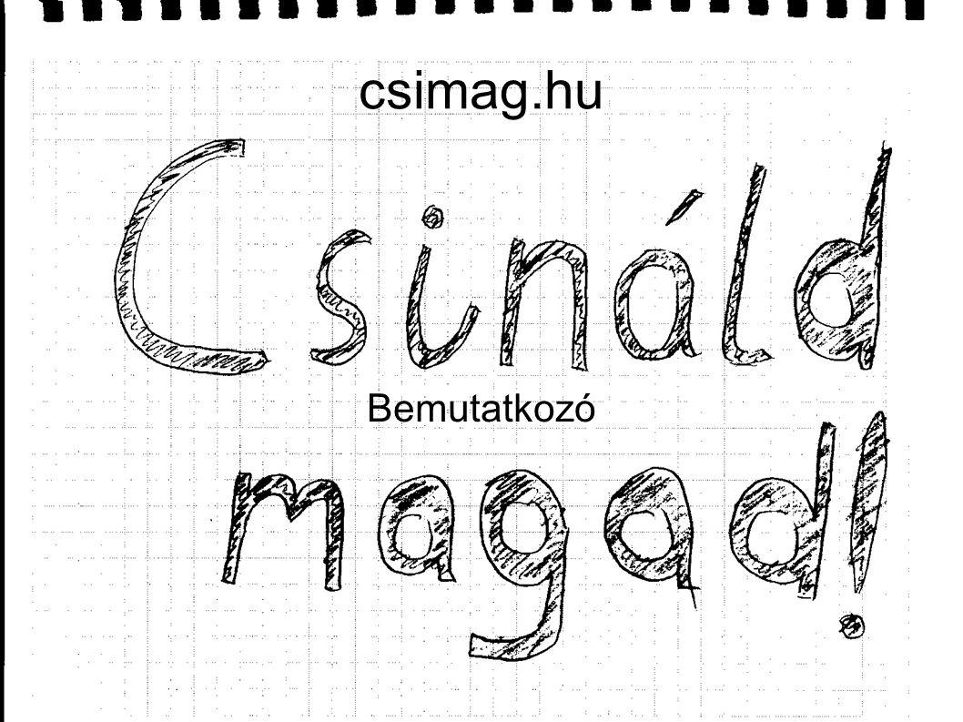 csimag.hu Bemutatkozó