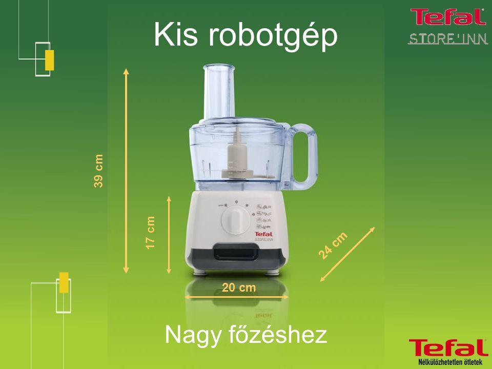 Kis robotgép Nagy főzéshez 39 cm 20 cm 24 cm 17 cm