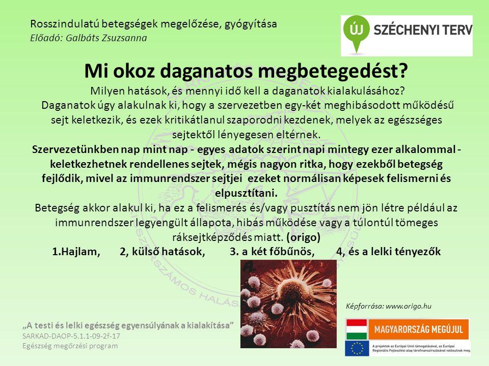 """Aggodalom """"A testi és lelki egészség egyensúlyának a kialakítása SARKAD-DAOP-5.1.1-09-2f-17 Egészség megőrzési program Rosszindulatú betegségek megelőzése, gyógyítása Előadó: Galbáts Zsuzsanna Képforrása: www.kepeslapok.com"""
