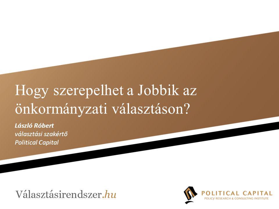 Hogy szerepelhet a Jobbik az önkormányzati választáson.