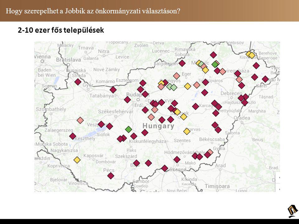 Hogy szerepelhet a Jobbik az önkormányzati választáson? 2 ezer fő alatti települések