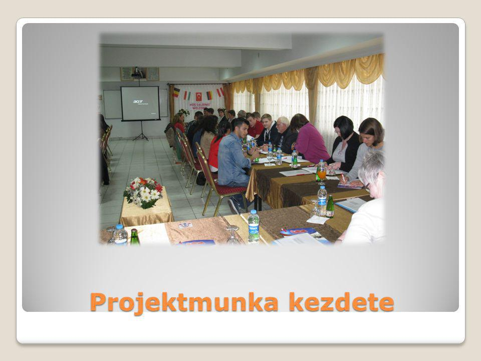 Projektmunka kezdete