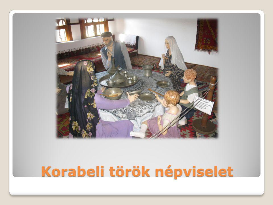 Korabeli török népviselet