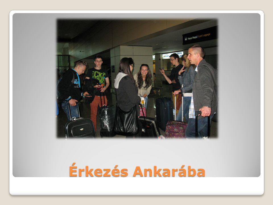 Érkezés Ankarába