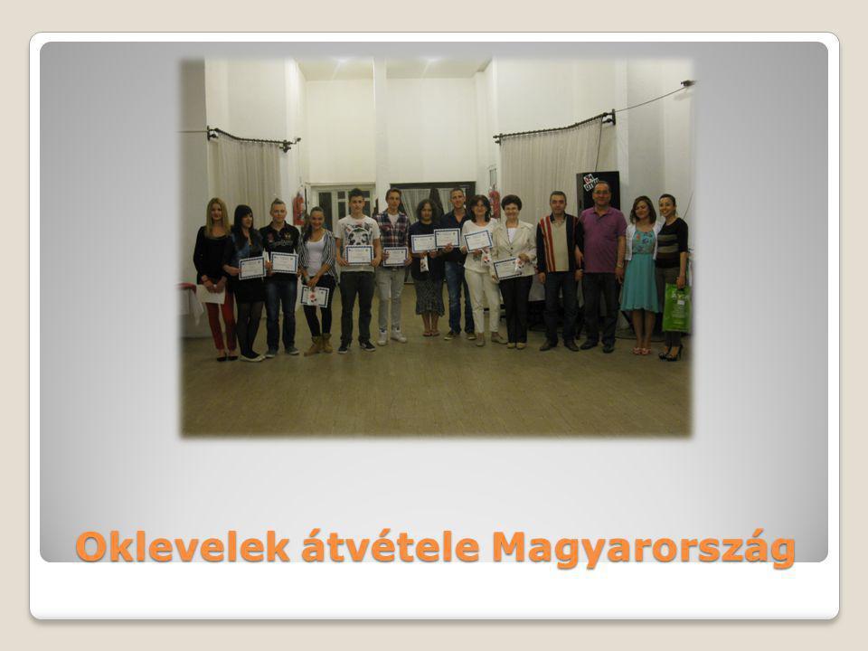 Oklevelek átvétele Magyarország