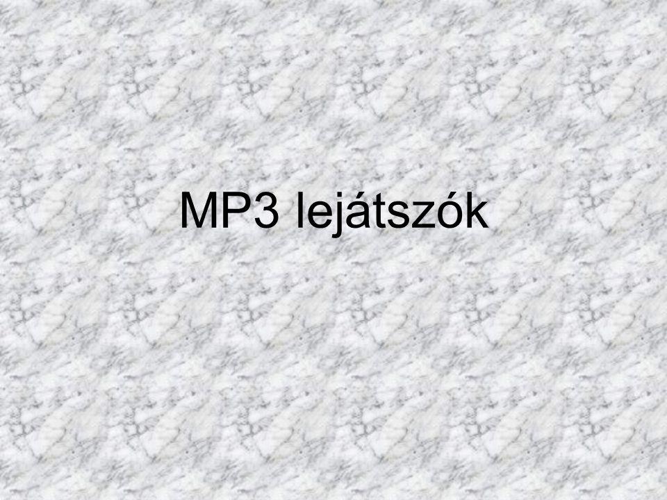 MP3 lejátszók