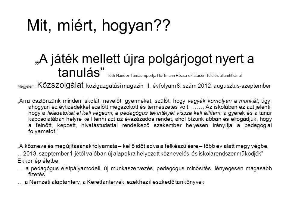 Fogalmak 1.: Fenntartó: állam, egyház, magánintézmény fenntartója 2011.