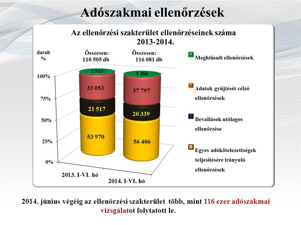 Adószakmai ellenőrzések 2014.