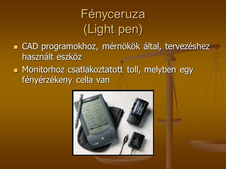 Fényceruza (Light pen) CAD programokhoz, mérnökök által, tervezéshez használt eszköz CAD programokhoz, mérnökök által, tervezéshez használt eszköz Mon