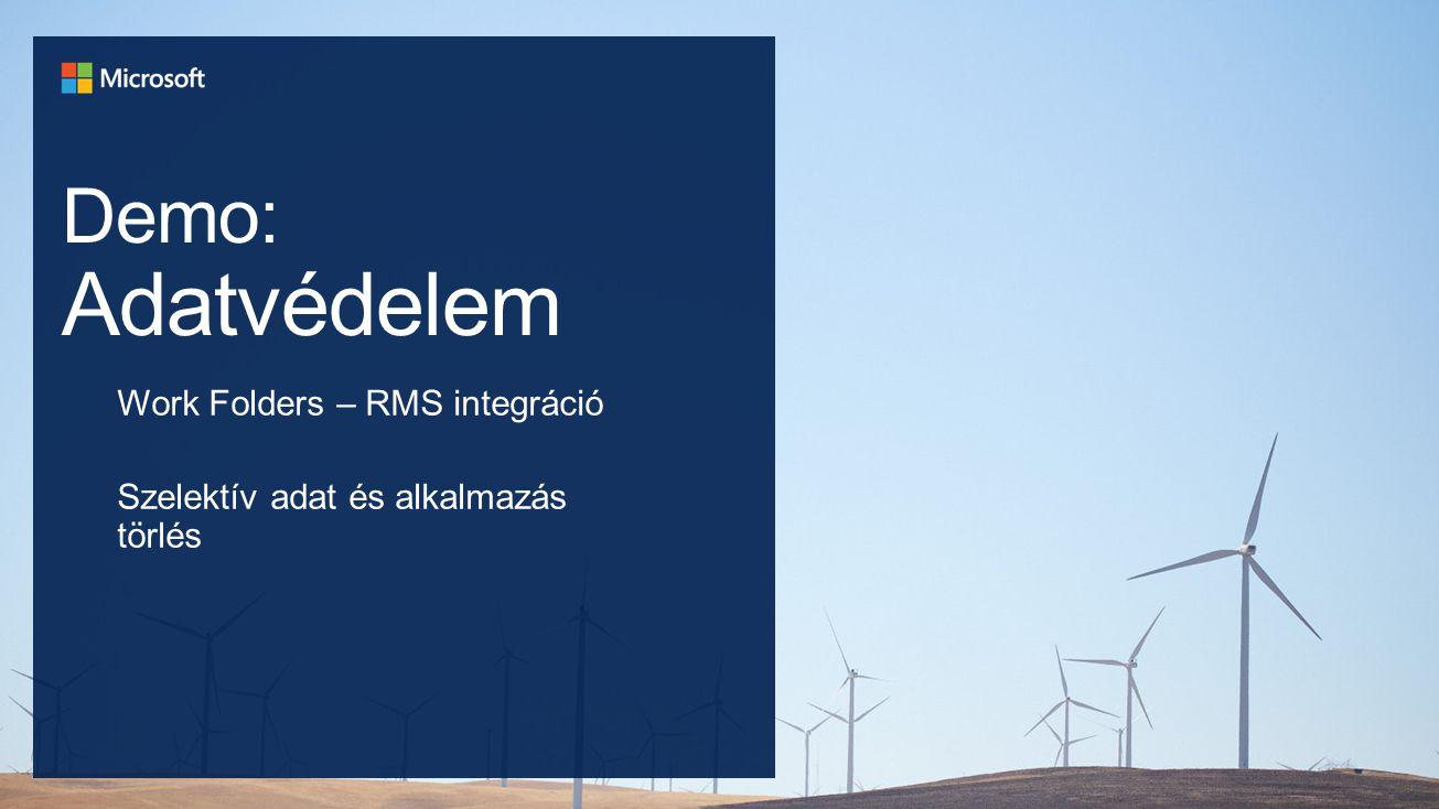 """Azonos """"Vállalati portál élmény többféle eszközre Egyszerű regisztráció és eszköz-befogadás (enrollment) Automatikus kapcsolat a belső erőforrásokhoz A piacvezető kliens felügyeleti eszköz cloud alapú MDM-mel egészül ki Egyszerű, felhasználó központú alkalmazás kezelés Teljes körű beállítás-kezelés valamennyi platformra Azonos identitás a helyi és a felhő infrastruktúrához Házirend alapú hozzáférés védelem a vállalati alkalmazásokhoz és adatokhoz Megerősített biztonság a többfaktoros hitelesítéssel A vállalati adatok és alkalmazások szelektív törlése az információk védelme érdekében Távoli asztali hozzáférés az biztonságos adatkezelés megvalósításához több platformra Tegyük lehetővé az IT demokratizálódását a szabályozási elvek feladása nélkül"""