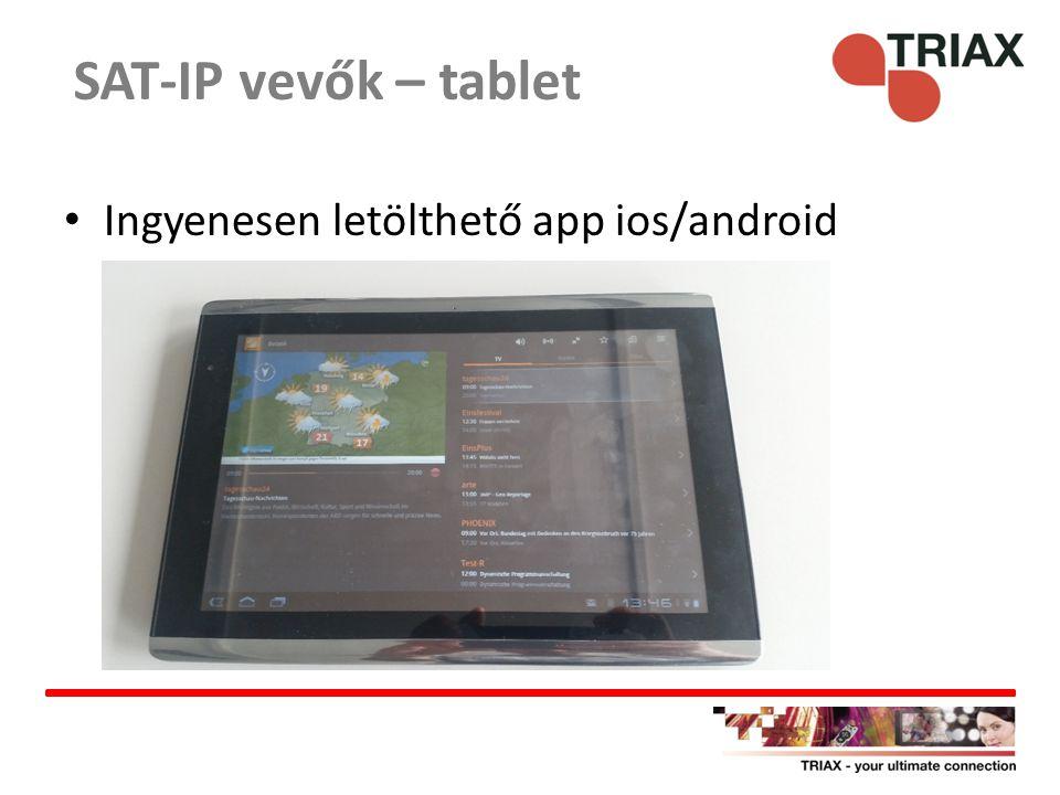 www.dvbviewer.com – ingyenesen letölthető www.dvbviewer.com SAT-IP vevők – PC