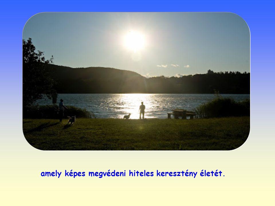 Az elszigetelt egyén képtelen sokáig ellenállni a világ csábításainak, a kölcsönös szeretetben azonban megtalálja azt az egészséges környezetet,