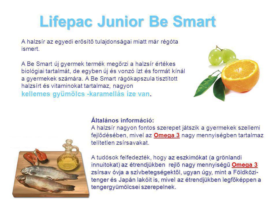 Lifepac Junior Вe Smart A halzsír az egyedi erősítő tulajdonságai miatt már régóta ismert.