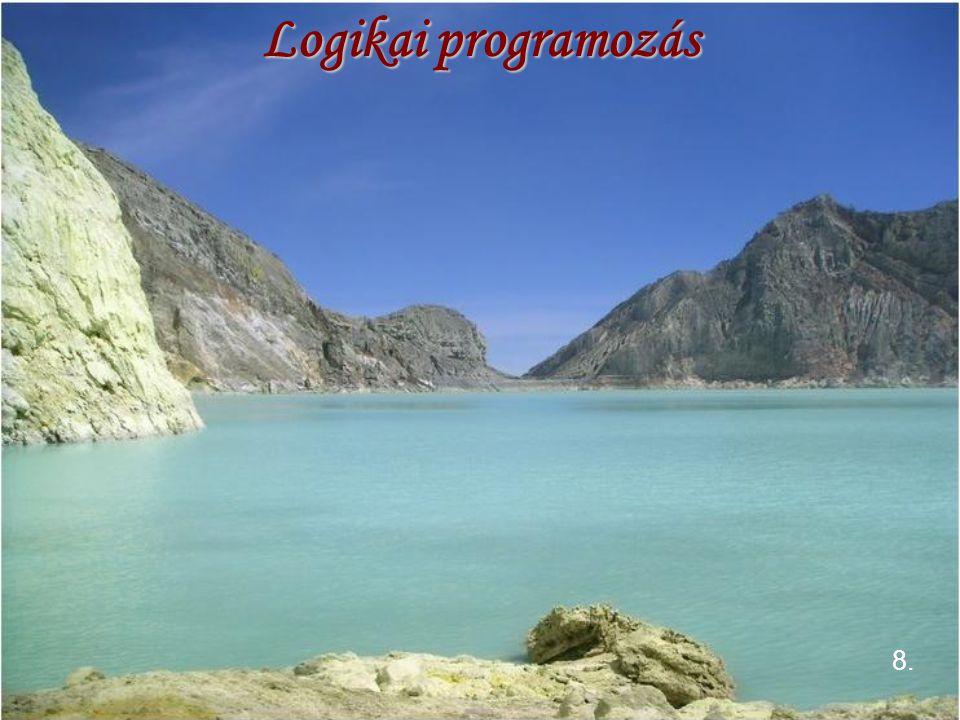 Logikai programozás 8.
