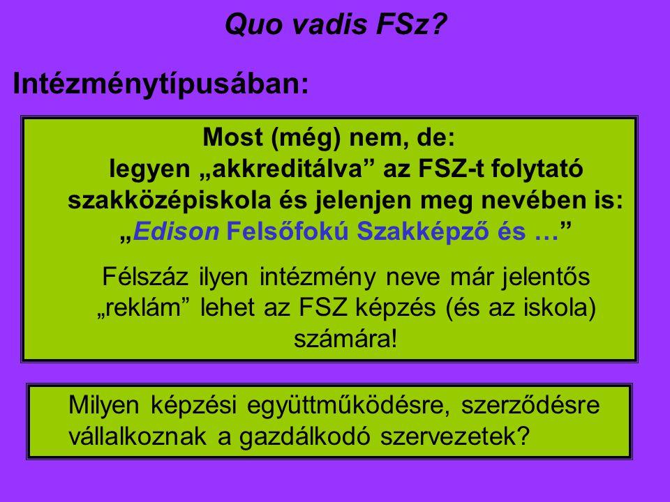 Quo vadis FSz.