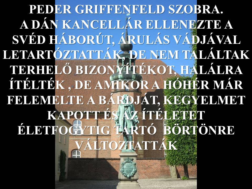PEDER GRIFFENFELD SZOBRA.